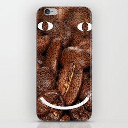 Smiling Coffee iPhone Skin