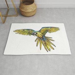 Blue Macaw Rug