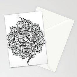 Snake Mandala Stationery Cards