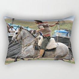throwing partnership Rectangular Pillow