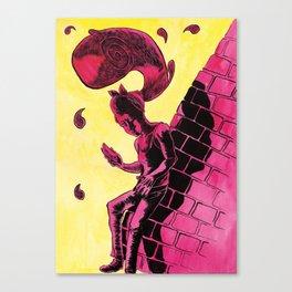 Hair Wave Canvas Print
