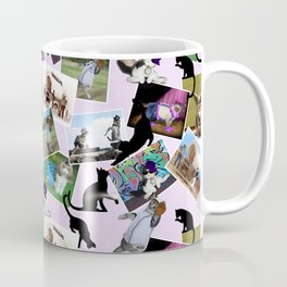 Collage of  Cat Photographs Coffee Mug