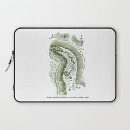 Great Serpent Mound Laptop Sleeve