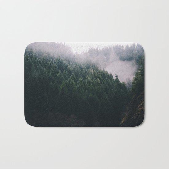 Forest Fog V Bath Mat