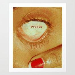 Poison Eye (2017) - Redgrits Art Print