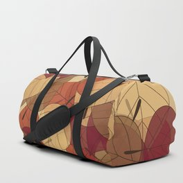 Fallen Leaves Large Duffle Bag