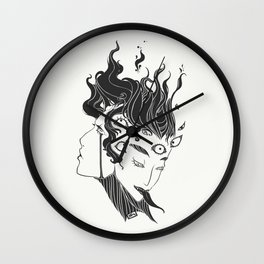 Pupula Duplex Demon Girls Wall Clock