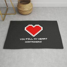 You Fill my Heart (Containers) Rug