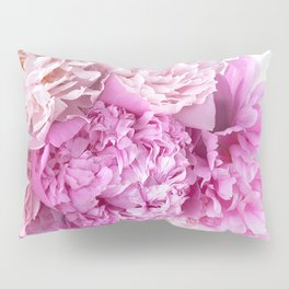 Pink Peonies Shabby Chic Cottage Peonies Pillow Sham