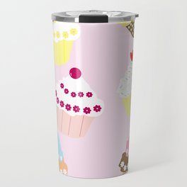 I Love Cupcakes Travel Mug