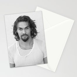 Jason Momoa Stationery Cards