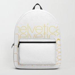 Helvetica - Gradient Backpack