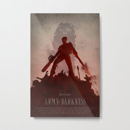 Army Of Darkness Metal Print