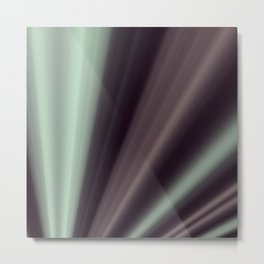 Hyper Projective Fractal in BMAP01 Metal Print