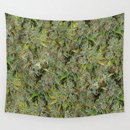cannabis bud, marijuana macro Wall Tapestry