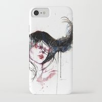 burlesque iPhone & iPod Cases featuring Burlesque by Chelsea Brouillette