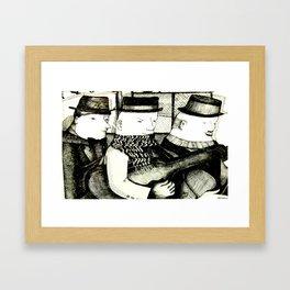 Three Musicians Framed Art Print