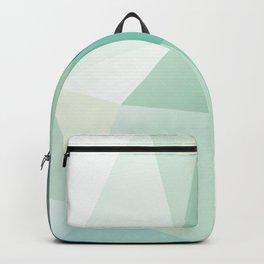 Lagoon – modern polygram illustration Backpack