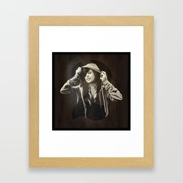 Hoody Framed Art Print