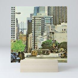 Toony Travel - San Francisco Mini Art Print