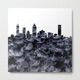 Montreal Skyline Canada Metal Print