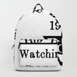 Big Brother is Watching You | George Orwell Shirt Backpack