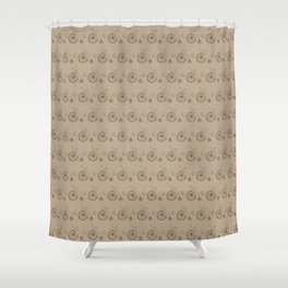 Penny Farthing Vintage Bicycle Shower Curtain