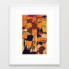 Raiders of the Lost Ark Framed Art Print