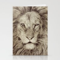 leo Stationery Cards featuring Leo by Eric Fan