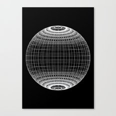 Wire Planet Canvas Print