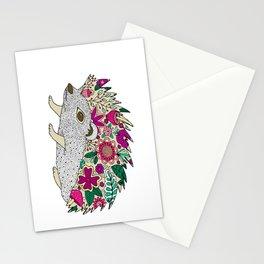 Woodland Hedgehog Illustration Stationery Cards
