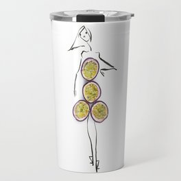 Edible Ensembles: Passionfruit Travel Mug