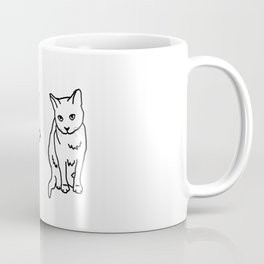 2 cats Coffee Mug