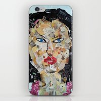 asian iPhone & iPod Skins featuring ANGRY ASIAN  by JANUARY FROST