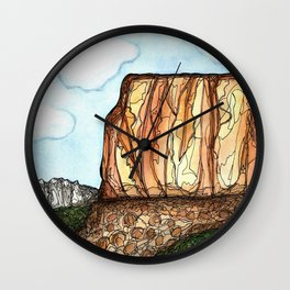 Utah Love Wall Clock