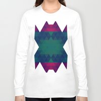 geo Long Sleeve T-shirts featuring Geo by Catherine Stuckrath