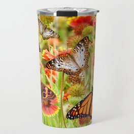 Wild butterfly flowers on sacred protected land Travel Mug