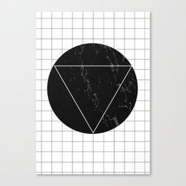 Marble Eclipse Canvas Print