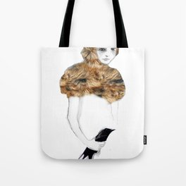 Bird in the Hand Tote Bag