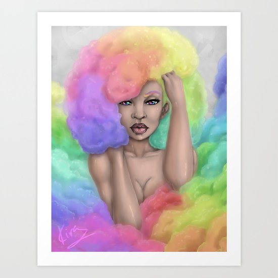 Rainbow Dream Art Print
