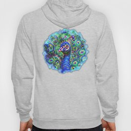 Brilliant Jeweled Peacock Hoody