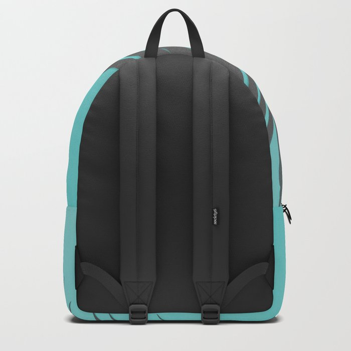 Palm Leaves #1 #Mint #decor #art #society6 Backpack