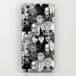 Horror Film Monsters iPhone Skin