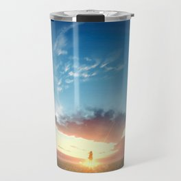Sky Sunrise Original ArtWork Travel Mug
