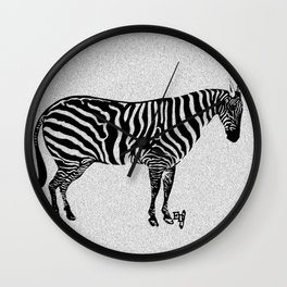EDS warrior Wall Clock