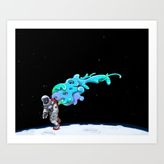 Moonwalk Art Print