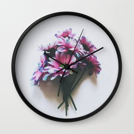 Daisy Bouquet Wall Clock