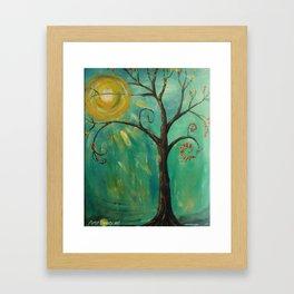 WHIMSY TREE OF LIFE Framed Art Print