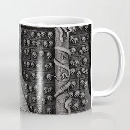 Cave Canem - Wall of Skulls Coffee Mug