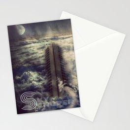 Sky Scraper ( + text ) Stationery Cards